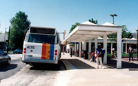 Bus Relocation and Bandstand