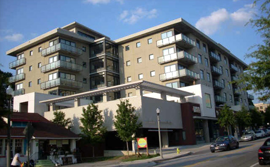 The 335 West Ponce project, completed 2005.