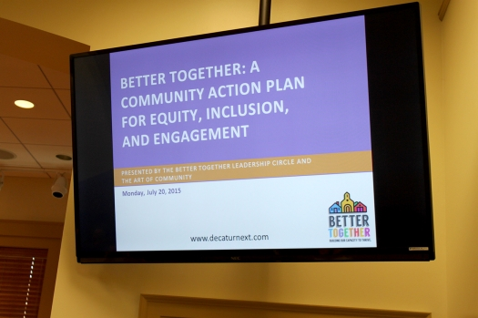 Presentation outlining the Leadership Circle's recommendations for engaging the Decatur community in a meaningful exploration of diversity in all its forms.